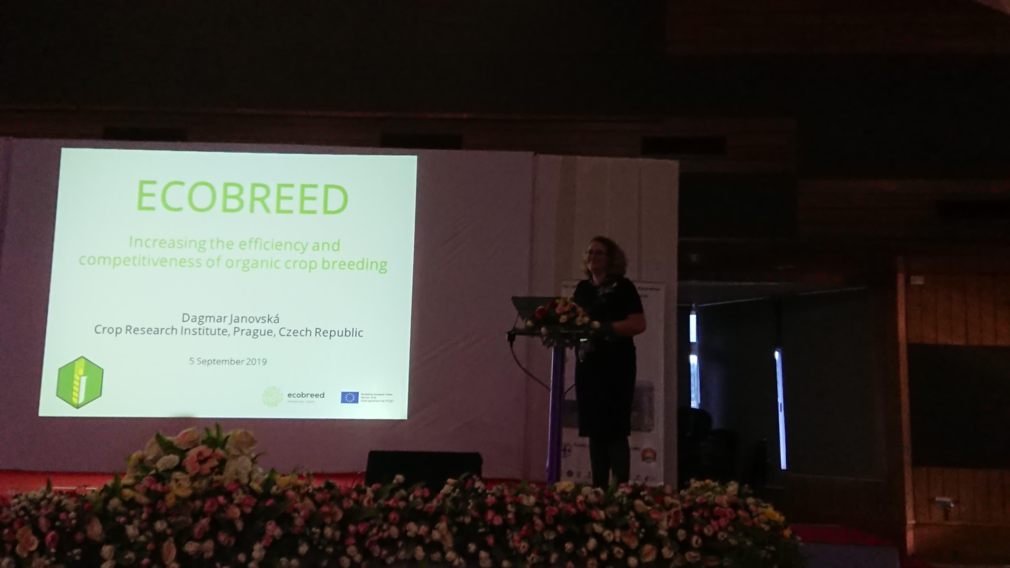ECOBREED presented at the 14th International Symposium on Buckwheat