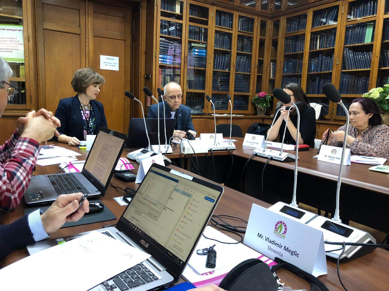 ECOBREED at ECPGR meeting in Bucharest, Romania
