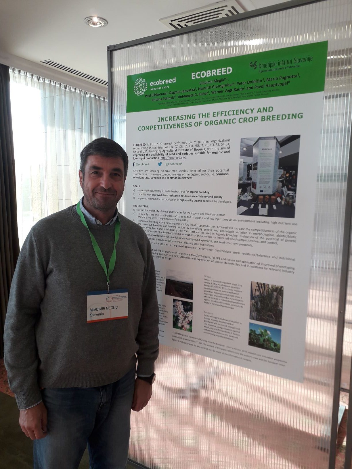 ECOBREED at the first European Conference on Crop Diversification in Budapest