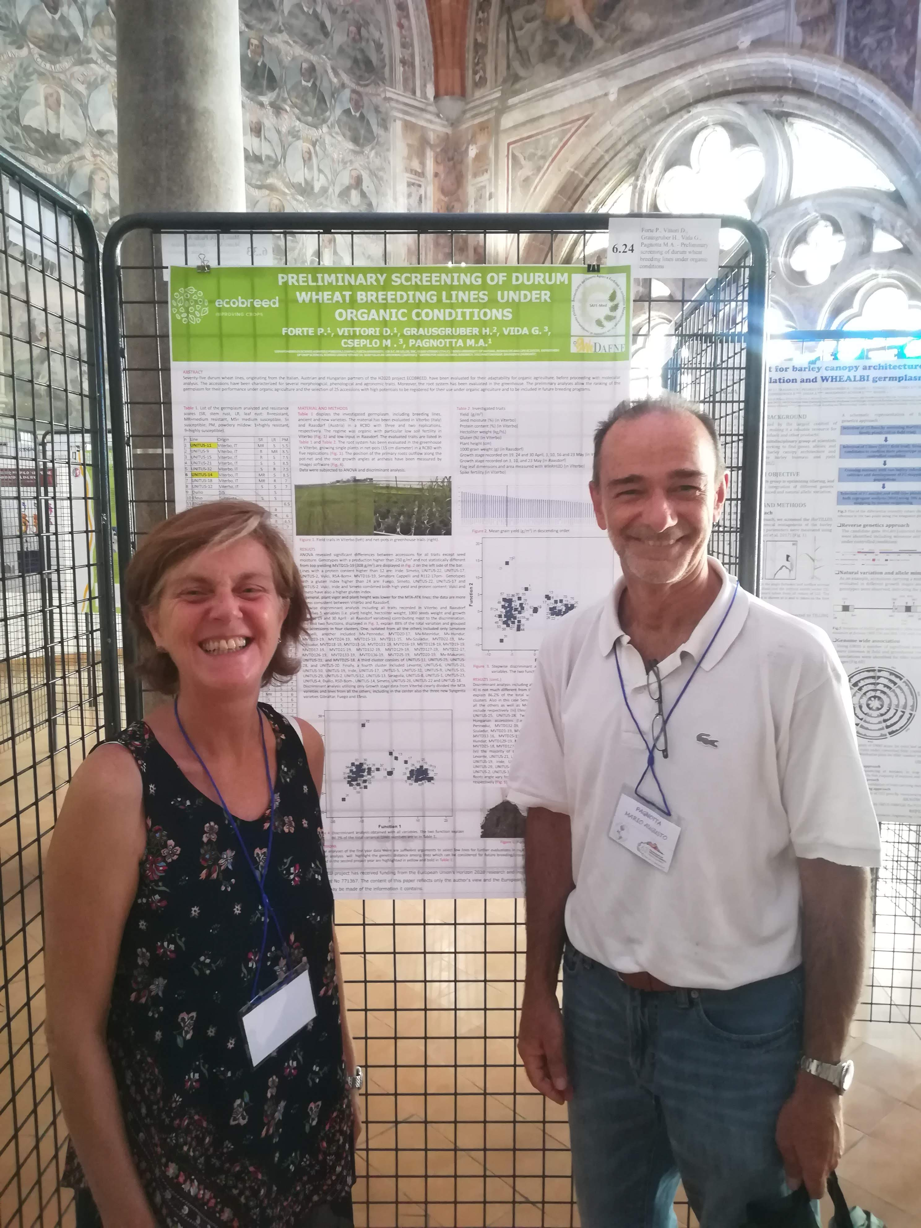 ECOBREED at the 53 Annual Congress of the Italian Society of Agricultural Genetics