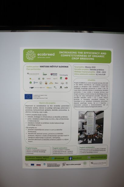 ECOBRRED at the event of Slovene Public Agricultural Advisory Service