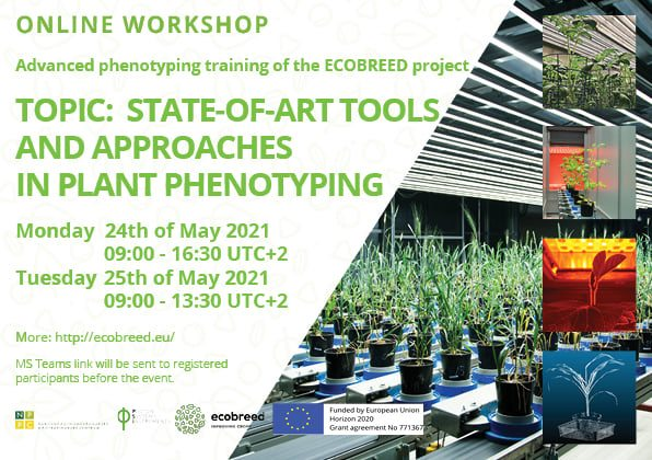 First ECOBREED online training on advanced phenotyping